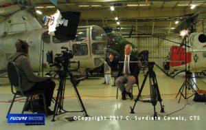 Two camera recording of pilot Jim Plamquist