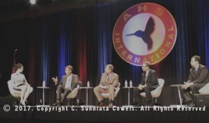 Roundtable discussion about helicopter technology at AHS Forum 73