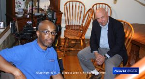 C. Sundiata Cowels interviews Frank Colucci
